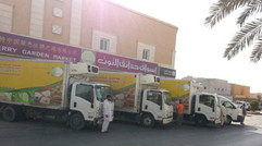 丝路公司沙特阿拉伯物流运输车队