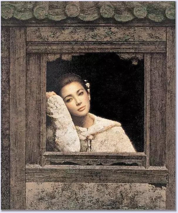 他把油画中的中国古典美表现得淋漓尽致!