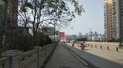 渠江二桥下游一览